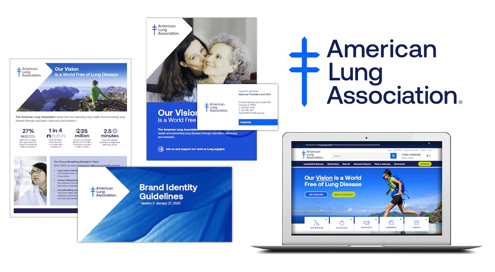 American Lung Association Branding
