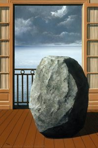 Invisible World by Rene Magritte