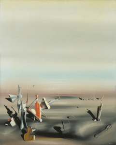 The Unforseen by Yves Tanguy