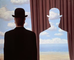 Decalomania by Rene Magritte